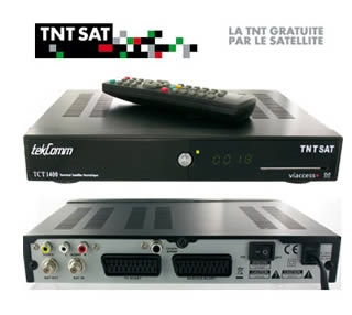 satellite reciever tekcomm tct1400 from sky in france. Black Bedroom Furniture Sets. Home Design Ideas