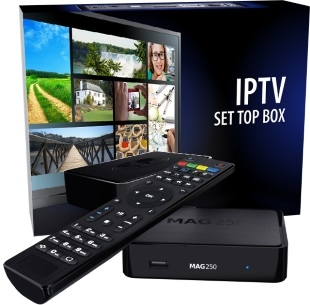 IPTV set-top box MAG250 from Sky in France